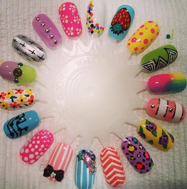 springtime nail ideas!