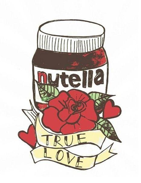 Para las amantes de la Nutella :P