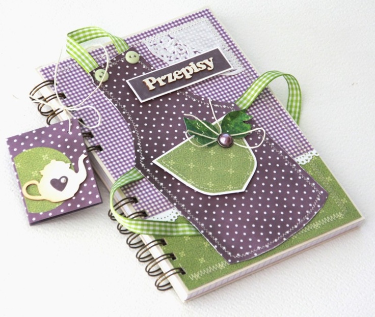 APRON RECIPE BOOK, HOW CUTE1  scrappassion: notesy