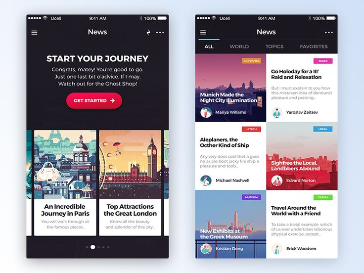 Freebie: Avital Mobile UI Kit by  Yaroslav Zaytsev 🐇