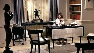 """Movie set of """"Sex and the Single Girl,"""" 1964"""
