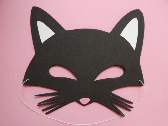 10 Pack Cat Mask Kitty Mask Kitten Mask Cat by StacheMeIfYouCan, $25.00