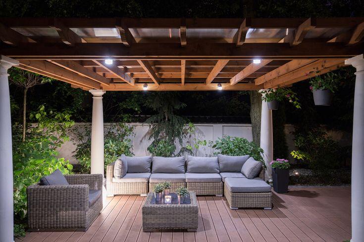 Tipps für eine hölzerne Terrassenabdeckung