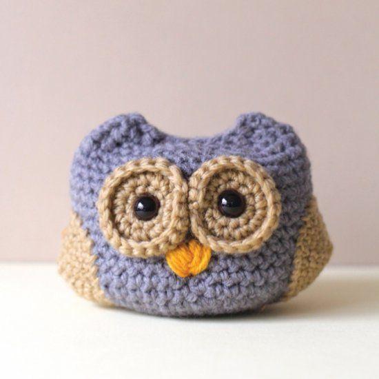 130 Best Images About Crochet Amigurumi Owl On Pinterest