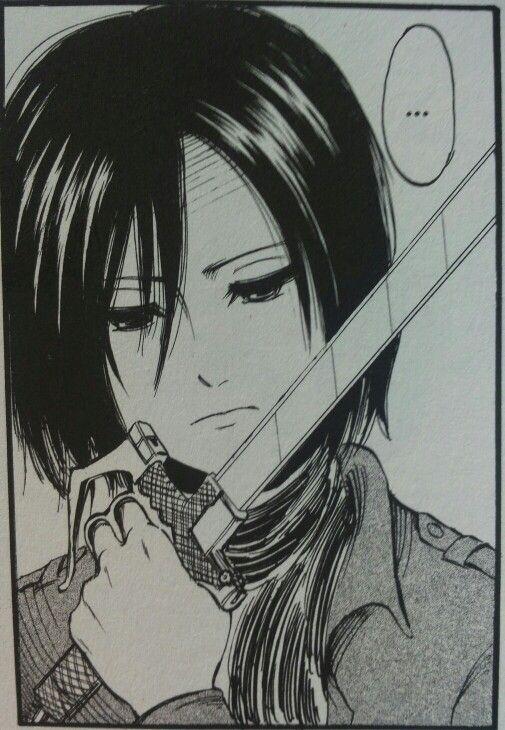 mikasa ackerman shingeki no kyojinattack on titan manga