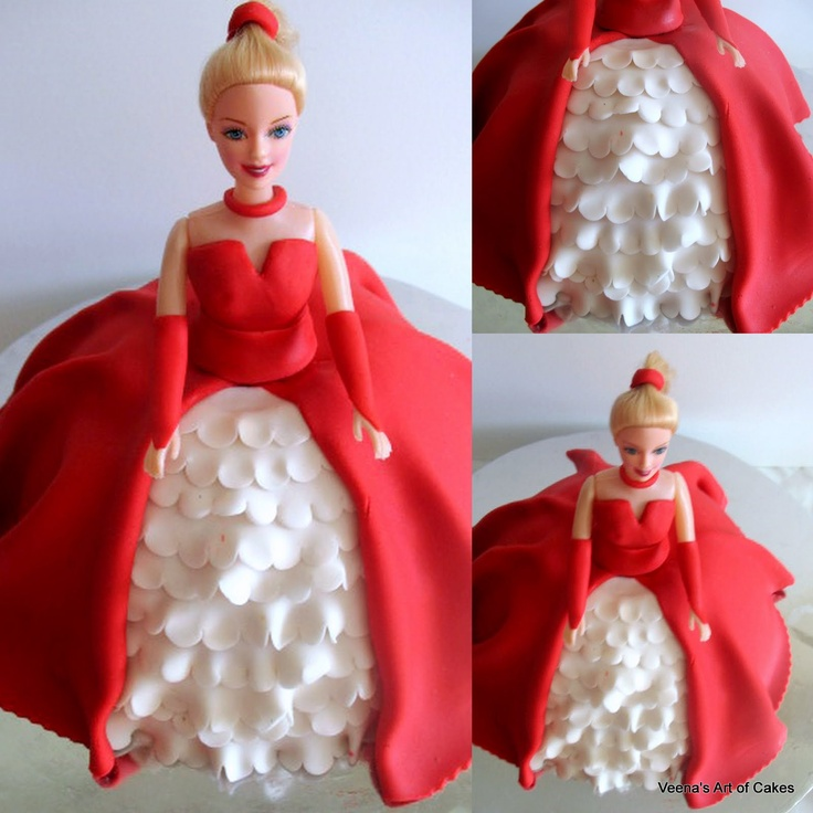 1000+ ideas about Doll Cake Tutorial on Pinterest Barbie ...