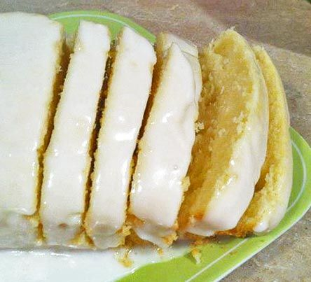 Starbuck's Lemon Pound Cake - Can't wait to make this.  Its my favorite at Starbucks!