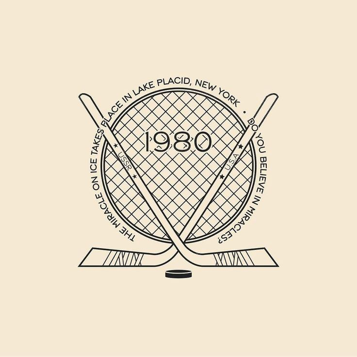 This Day In History - Feb 22 - 1980 - The Miracle On Ice takes place in Lake Placid NY when the USA olympic hockey team defeats the team from the USSR.  ---  #thisdayinhistory #todayinhistory #tdih #history #onthisday #minimal #minimalism #simple #minimalist #texture #adobe #illustration #vector #365project #america #usa #hockey #miracle #miracleonice #lakeplacid #newyork #olympics #winterolympics #USSR #ice #sports #icehockey #fact #1980