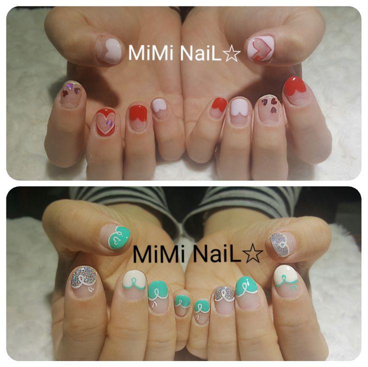 미미네일 Miminail nailart mimi naildesign cute beauty