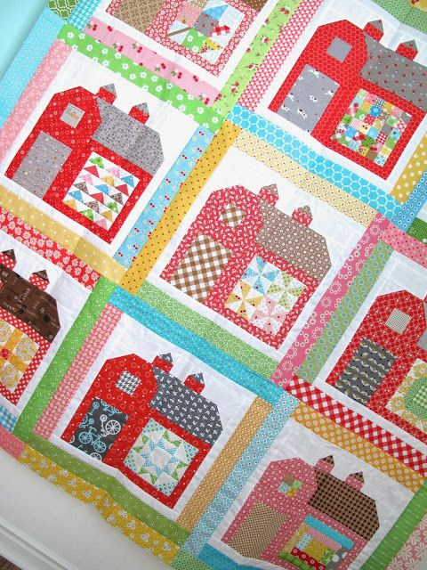 Quilty Barn quilt along by Bee In My Bonnet