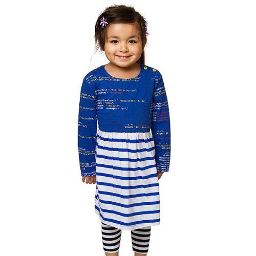 NEW I love Code Girls Dress! - Your little one has her own . http://geek.ragebear.com/k8yqo  Geek Gadgets Geek Stuff