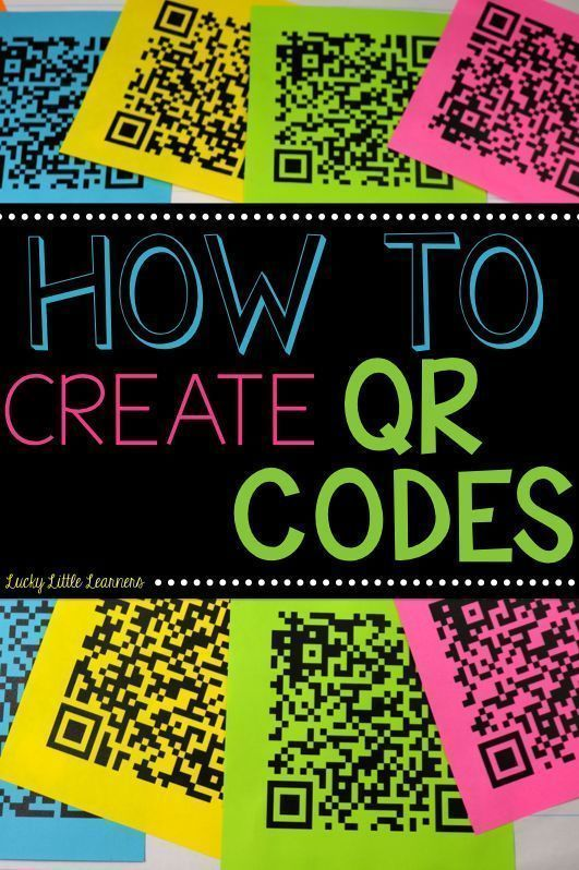64 best qr codes images on pinterest school educational have you ever wondered how tpt authors make those qr codes on their products this fandeluxe Images