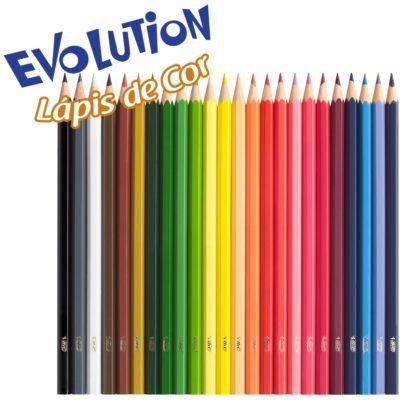 lapis de cor bic evolution 24 cores