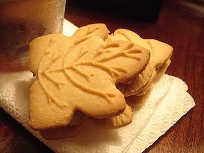 """""""Maple Leaf Creme Cookies"""""""