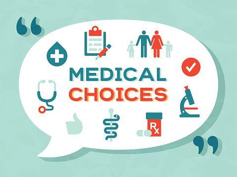 Vector Art : Medical Choices