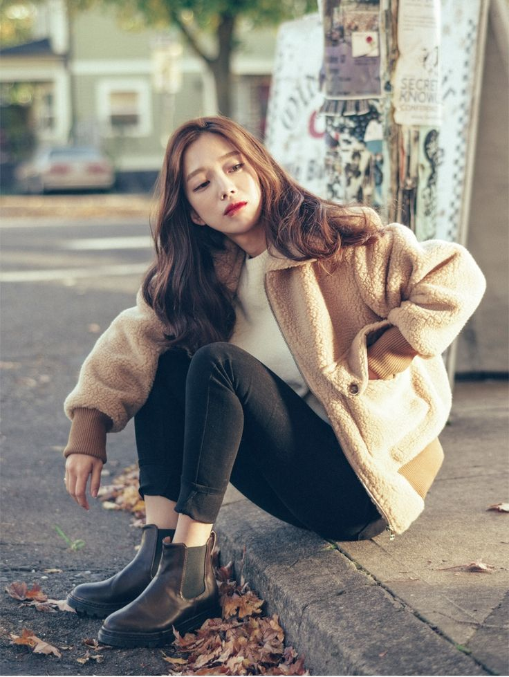 Picture results for winter korean fashion