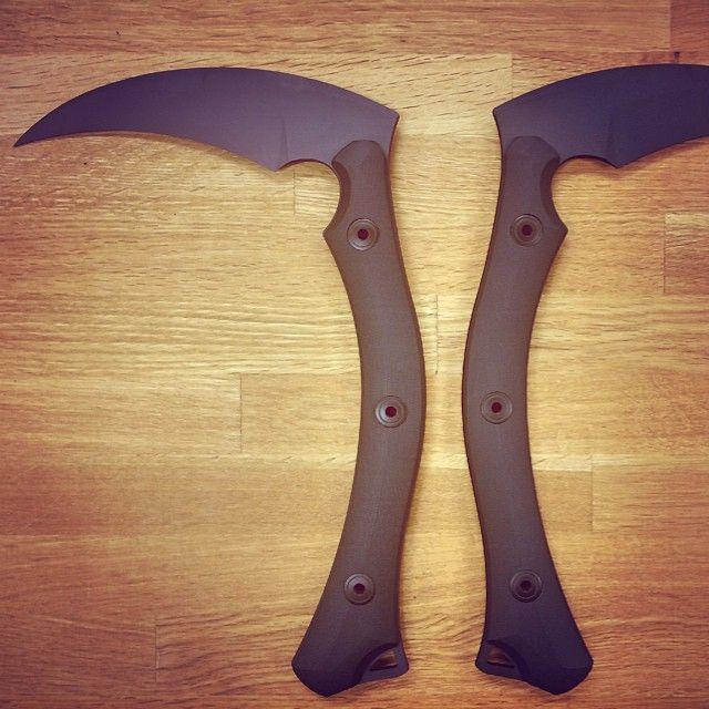 Bastinelli Knives tactical kamas, awesomeness at its best! #bastinelliknives #tacticalkama
