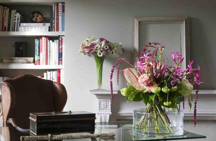 Bouquets in the study | ramos de flores en el estudio
