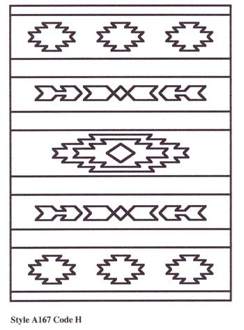 Southwestern Designs Patterns | Aztec and Southwestern Designs