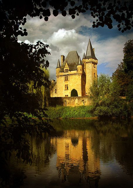 | ♕ | French Treasure - Château de Clérans, Périgord | by © Chris A