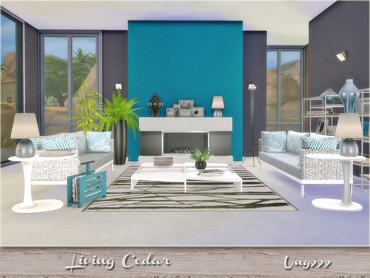 131 best s4 salon images on pinterest living room sets for Modern living room sims 4