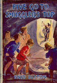 Enid Blyton -- Five Go To Smugglers Top