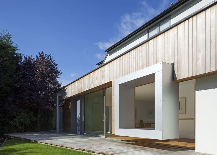 A house with a floating window seat is among 33 projects shortlisted for Don't Move, Improve 2016