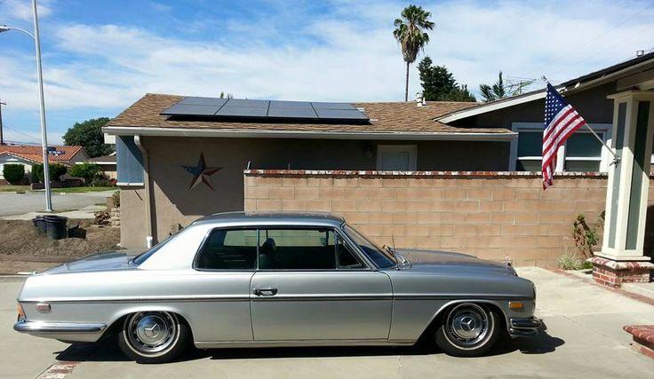 1972 Mercedes 250C (OG - Los Angeles) - StanceWorks