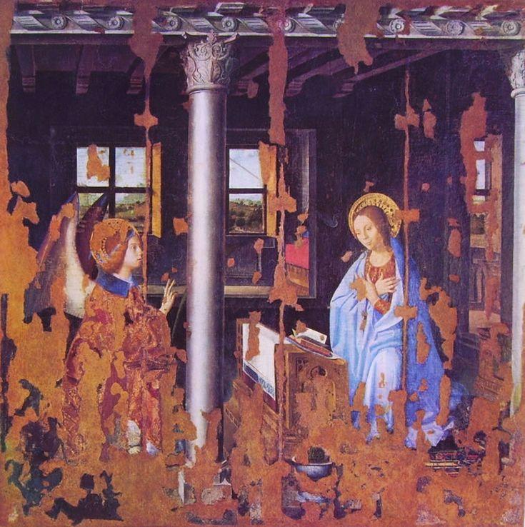 Antonello da Messina - L'Annunciazione (1474), Museo Nazionale di Siracusa.