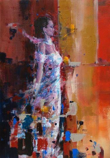 "Saatchi Art Artist OSCAR ALVAREZ; Painting, ""SD-8"" #art"