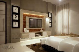 desain kamar tidur utama