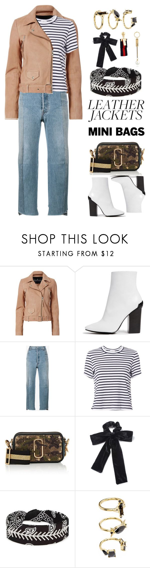 """""""Untitled #570"""" by froyalbiatsii ❤ liked on Polyvore featuring Designers Remix, Kendall + Kylie, Vetements, A.L.C., Marc Jacobs, Miss Selfridge, Fallon, Noir Jewelry and WithChic"""