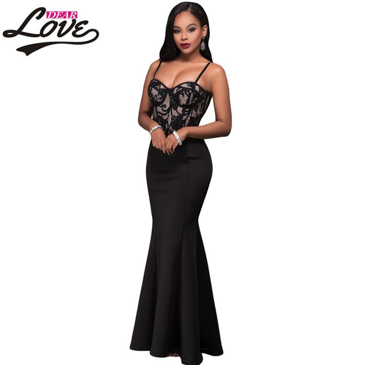 Dearlove Skirt 2017 Cocktail Formal party long Gown Luxury Autumn winter Maxi Party Zip Black Mermaid Luxe Maxi Skirt LC65024