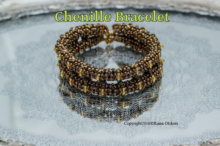 (5) Name: 'Jewelry : Tutorial Chenille Bracelet Pattern