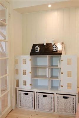 Perfect idea for the dolls house grandpa made