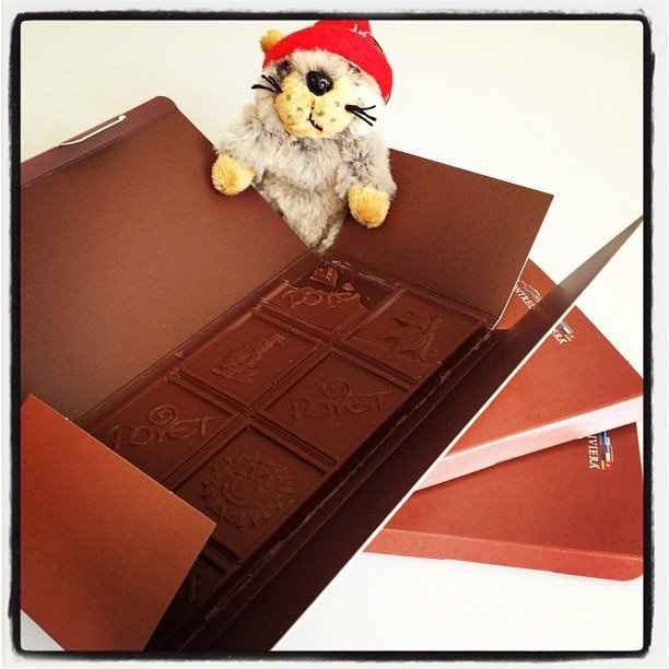 Marmottes adorent le chocolat suisse / Marmots love Swiss Chocolate