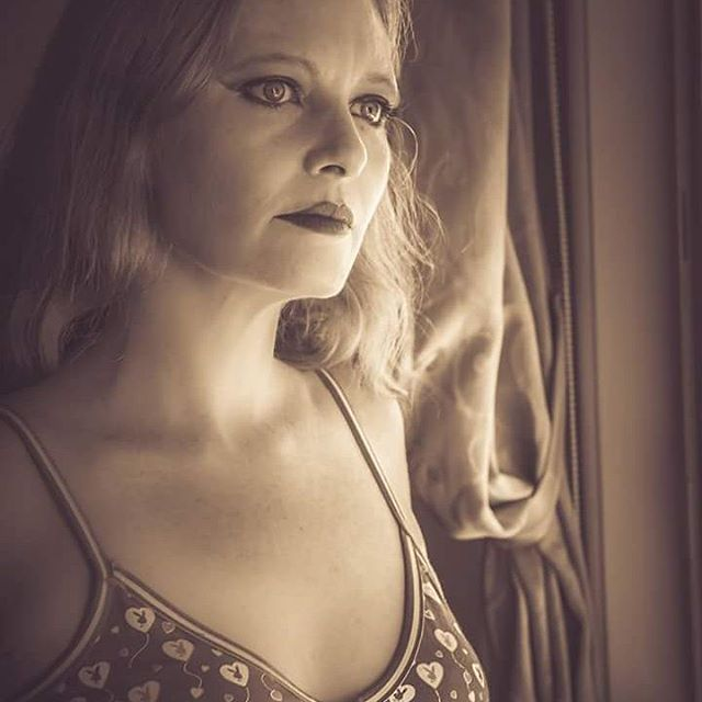 #thoughts with a #view out of a window #model Sarah Sinz #redhead #ranga #friend #fun #humour #brisbanemodel #brisbane #queensland #australia #artist #photographer #picoftheday