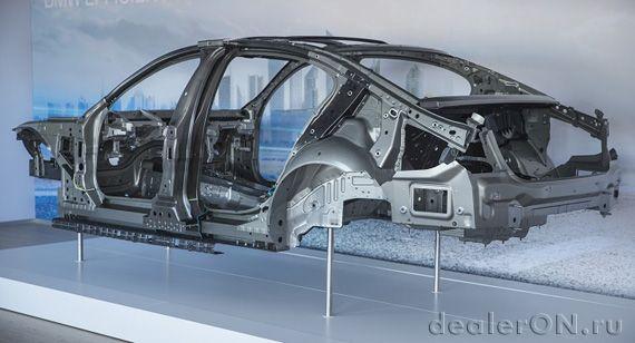 Конструкция кузова BMW 7 серии (БМВ 7 серии)