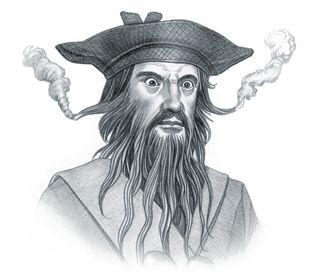 Picture of Blackbeard