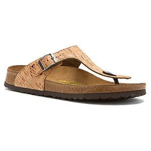 The Gizehs are the new hip birkenstocks everybody is wearing! The casual  chic look of a sandal with the comfort of the regular Arizona Birkenstocks!