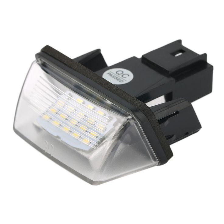 11.37$  Buy here - http://aliy24.shopchina.info/go.php?t=32673801687 - 2pcs  FREE ERROR 18 LEDs LICENSE NUMBER PLATE LIGHT Bulbs FOR PEUGEOT 206 207 306 CITROEN C3 C4 5 XSARA 12V  #magazine