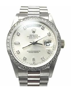"""""""Features & Benefits"""" Rolex PRESIDENTIAL swiss-automatic mens Watch 18049 (Certified Pre-owned)"""