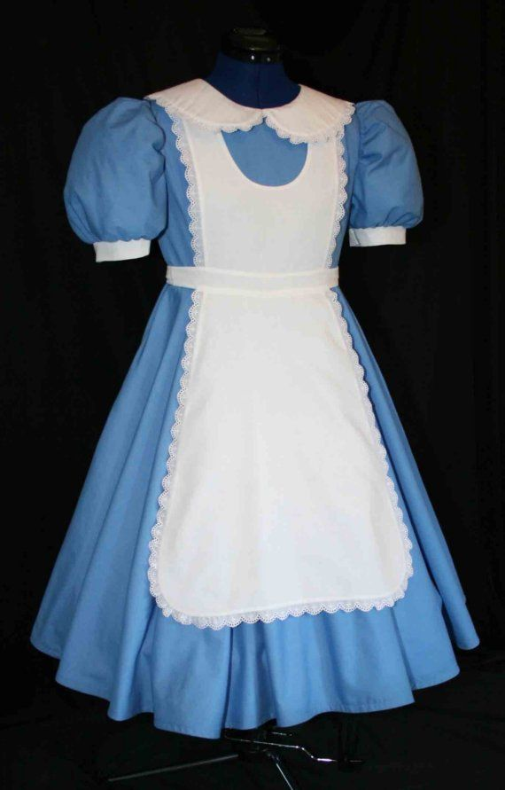 Adult Sz ALICE In WONDERLAND Deluxe Costume by mom2rtk on Etsy