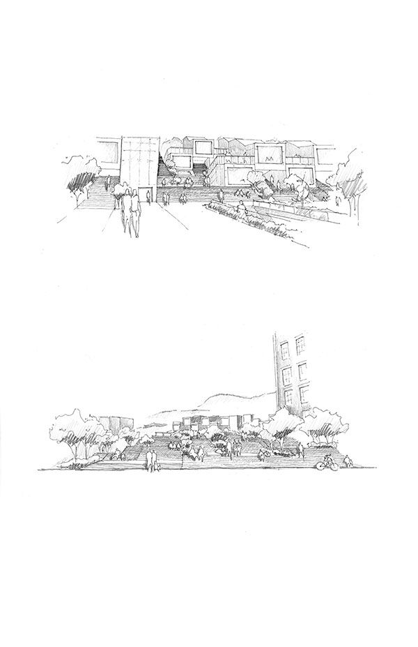 project and process for creation of an Industrial Arts Center in Cincinnati Ohio