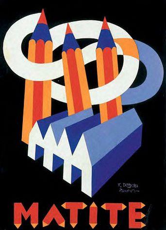 By Fortunato Depero, 1926, Matite. (I)