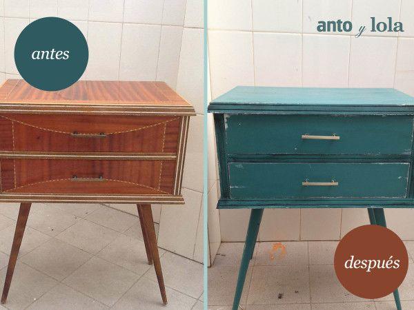 17 mejores ideas sobre muebles viejos en pinterest for Reciclar muebles viejos