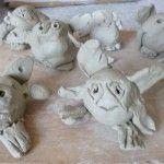 Clay bog babies