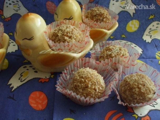 Medovo - karamelové guľky - Recept