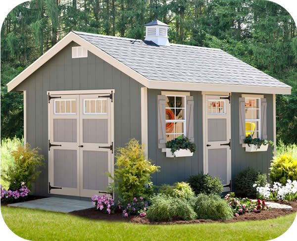 Ez Fit Riverside 12x24 Wood Storage Shed Kit Ez Riverside1224 Storage Shed Kits Wood Storage Sheds Shed With Porch