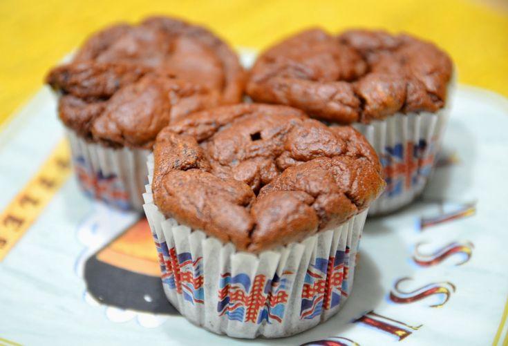Sapori in Zona: Muffin banana e cioccolato (5 blocchi)